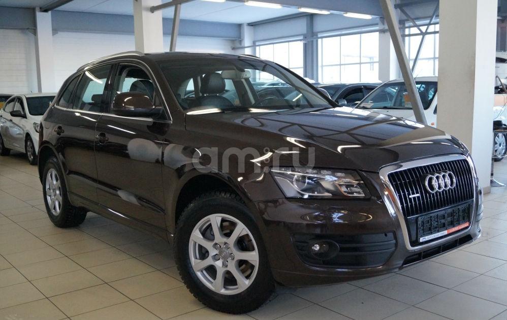 Audi Q5 с пробегом, коричневый , отличное состояние, 2012 года выпуска, цена 1 260 000 руб. в автосалоне Березовский привоз (Екатеринбург, тракт Березовский, д. 4Б)