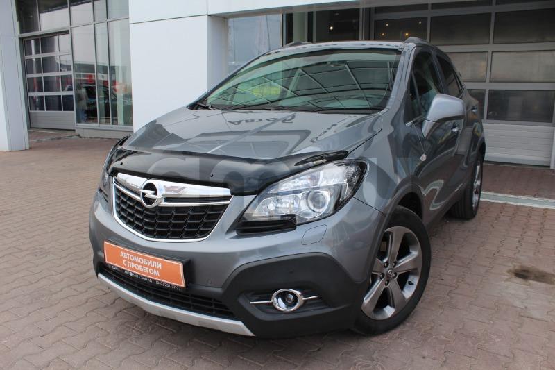 Opel Mokka с пробегом, серый , отличное состояние, 2014 года выпуска, цена 849 000 руб. в автосалоне Автобан-Запад (Екатеринбург, ул. Металлургов, д. 67)