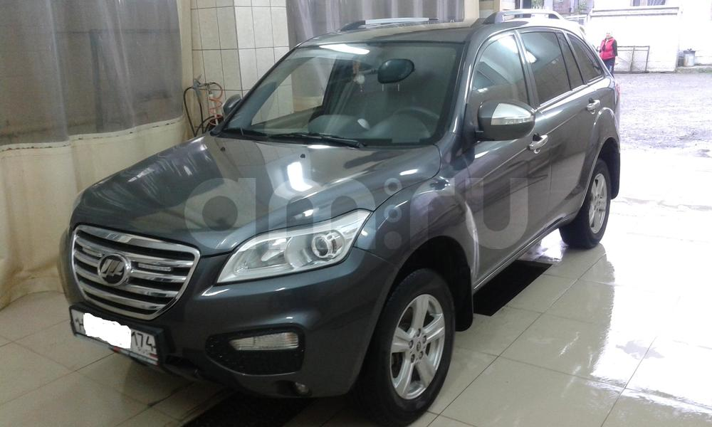 Подержанный Lifan X60, хорошее состояние, серый металлик, 2013 года выпуска, цена 440 000 руб. в Челябинской области