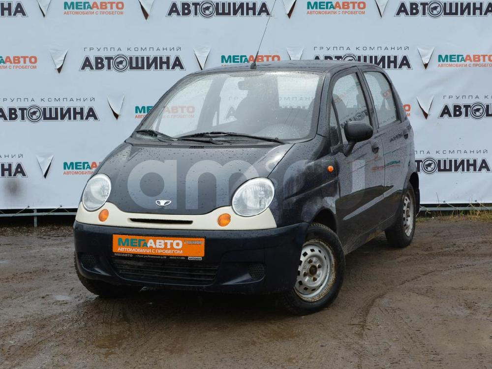Daewoo Matiz с пробегом, синий , отличное состояние, 2007 года выпуска, цена 83 000 руб. в автосалоне Мега Авто Калуга (Калуга, ул. Зерновая, д. 28)