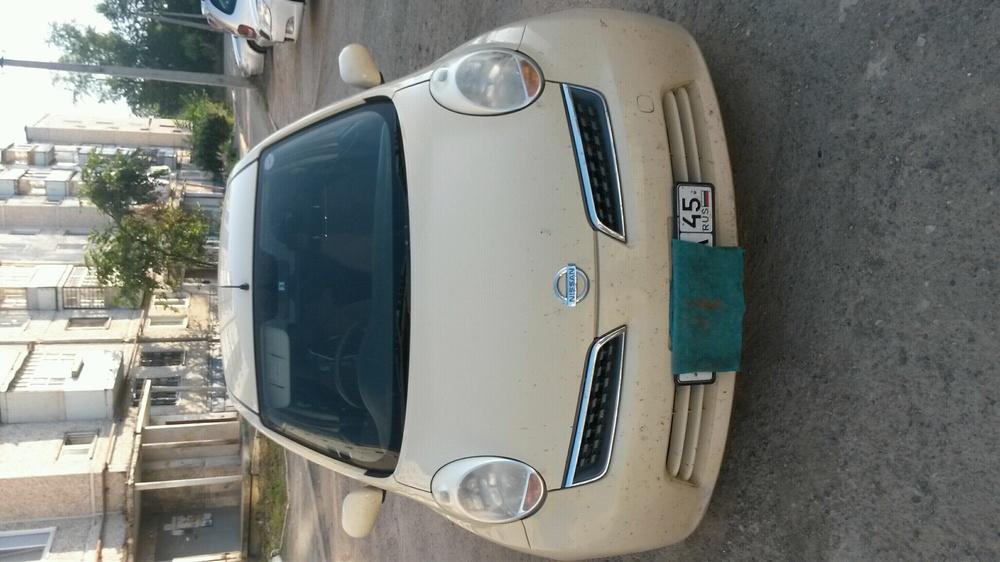 Подержанный Nissan March, хорошее состояние, желтый , 2008 года выпуска, цена 280 000 руб. в Челябинской области
