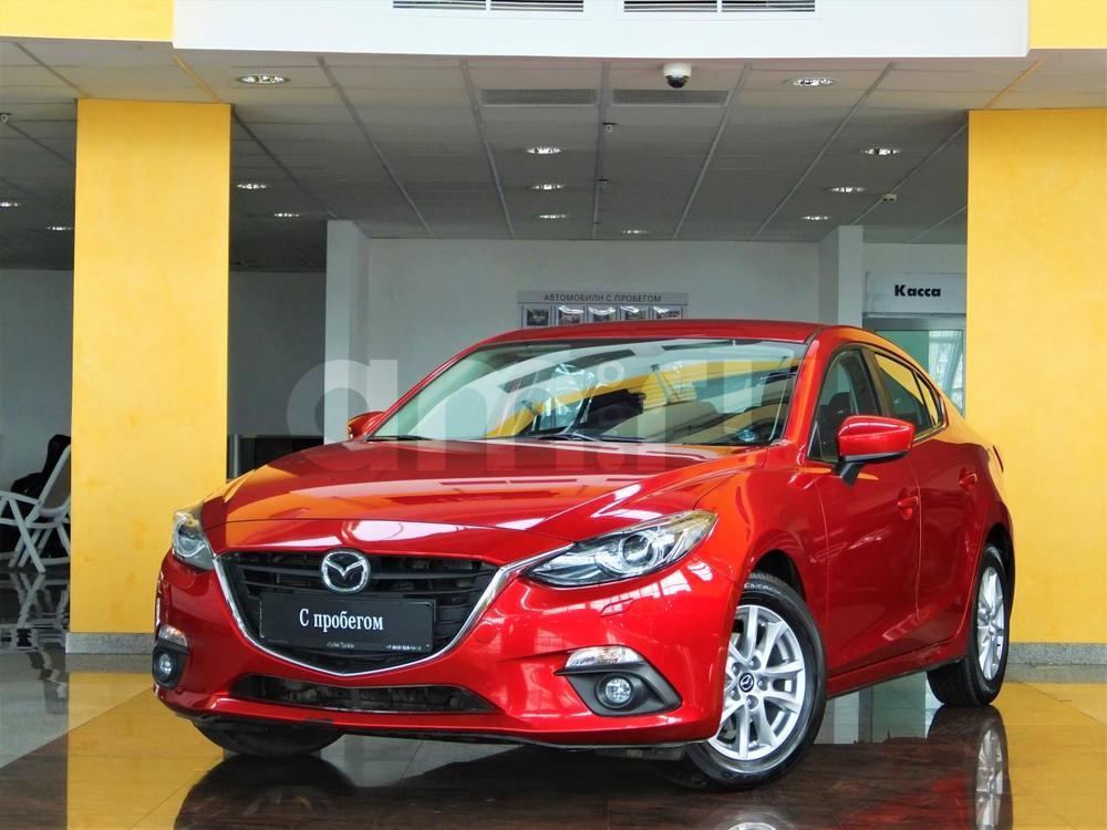 Mazda 3 с пробегом, красный , хорошее состояние, 2014 года выпуска, цена 880 000 руб. в автосалоне  ()