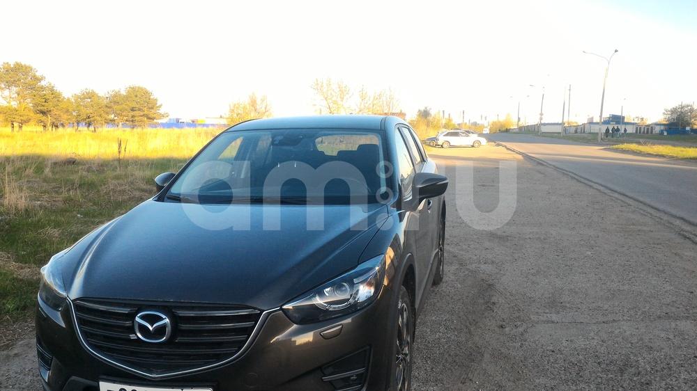 Подержанный Mazda CX-5, хорошее состояние, коричневый металлик, 2015 года выпуска, цена 1 150 000 руб. в Ульяновске