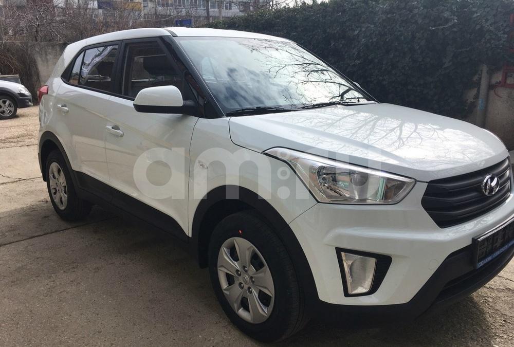 Hyundai Creta с пробегом, белый , отличное состояние, 2017 года выпуска, цена 959 900 руб. в автосалоне БЭСКИД (Симферополь, п. Молодёжное, Объездная Ялтинская дор., 44)