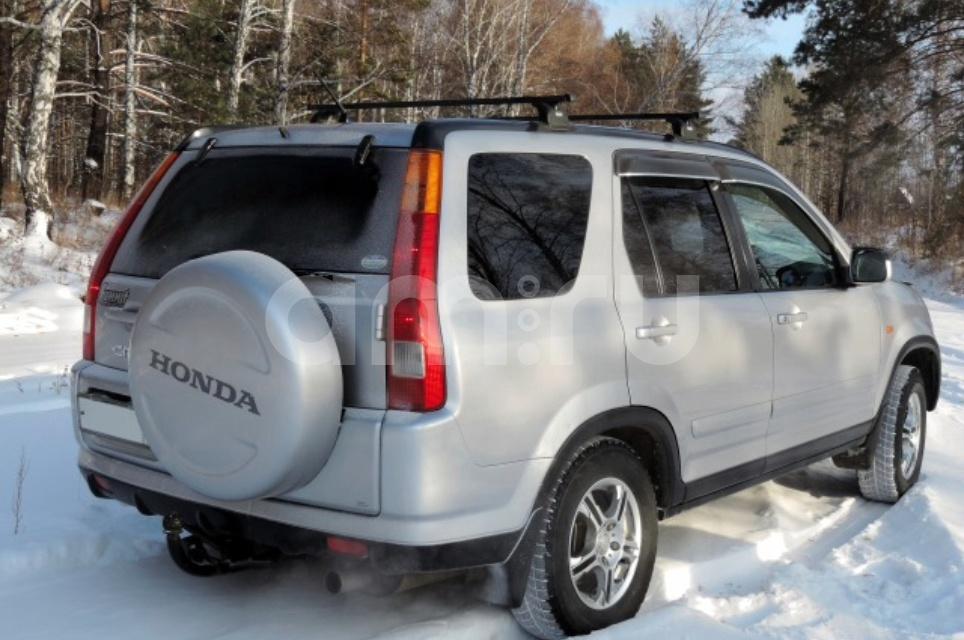 Подержанный Honda CR-V, хорошее состояние, серый , 2001 года выпуска, цена 475 000 руб. в Иркутской области