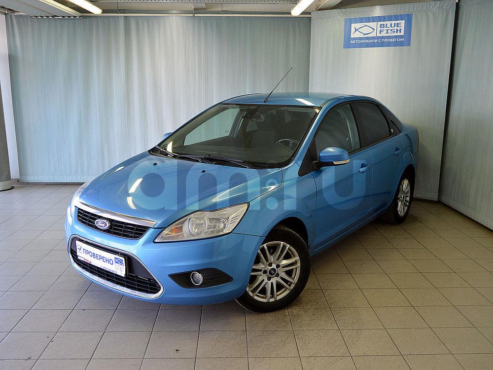 Ford Focus с пробегом, голубой , отличное состояние, 2008 года выпуска, цена 359 000 руб. в автосалоне РОЛЬФ Витебский Blue Fish (Санкт-Петербург, пр-кт Витебский, д. 17, корп. 6)
