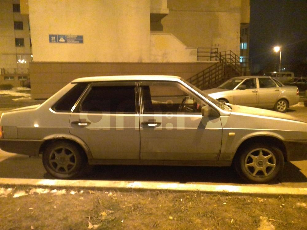 Подержанный ВАЗ (Lada) 2109, хорошее состояние, серебряный , 2002 года выпуска, цена 40 000 руб. в республике Татарстане