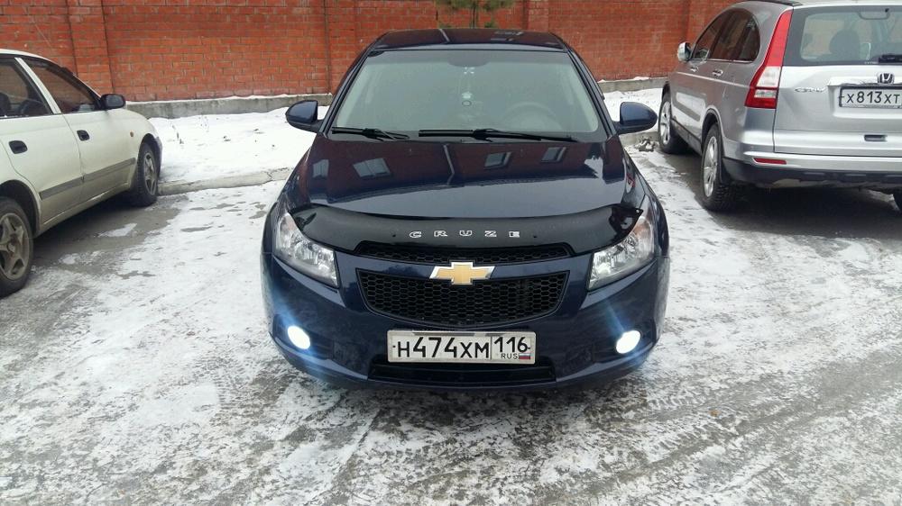 Подержанный Chevrolet Cruze, отличное состояние, синий металлик, 2011 года выпуска, цена 430 000 руб. в республике Татарстане