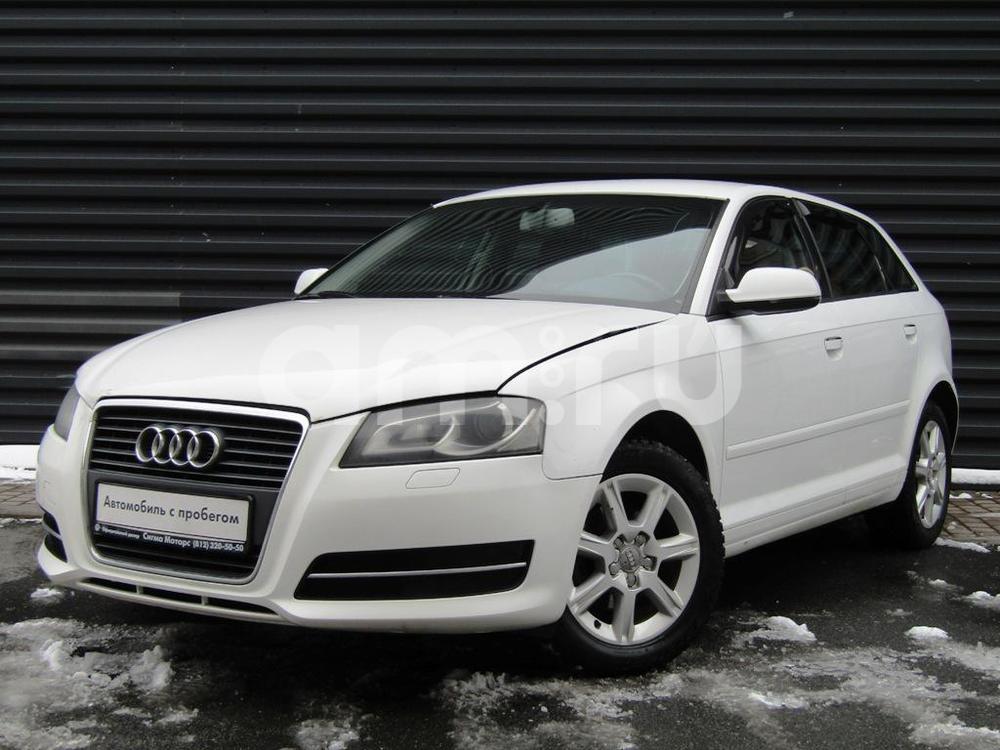 Audi A3 с пробегом, белый , среднее состояние, 2011 года выпуска, цена 428 200 руб. в автосалоне  ()