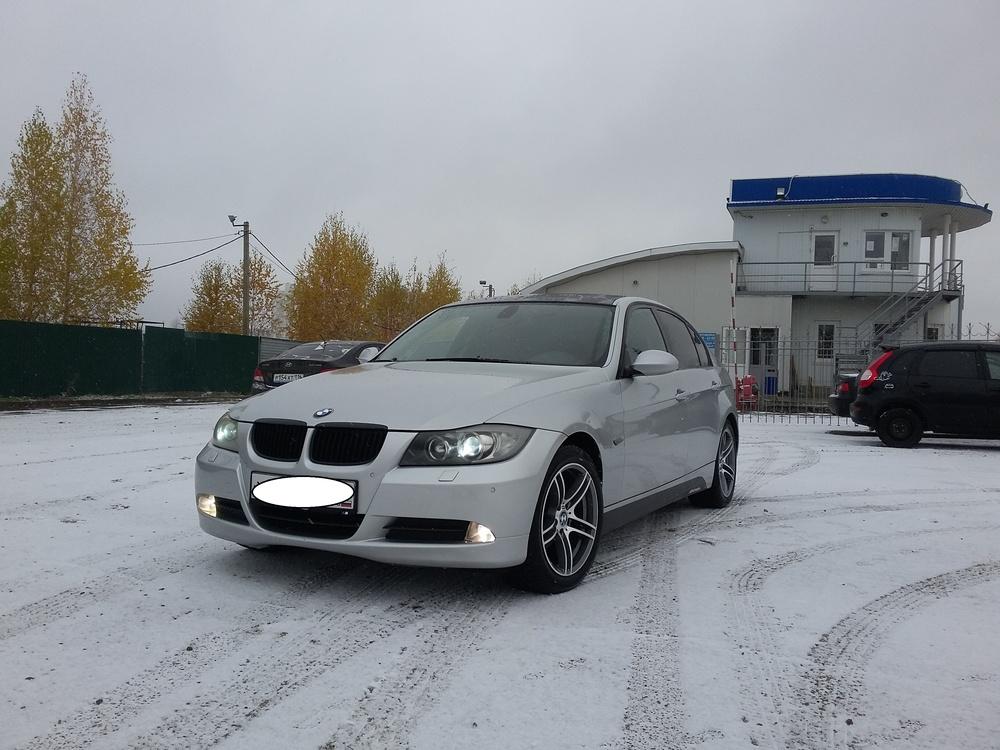 Подержанный BMW 3 серия, отличное состояние, серебряный , 2008 года выпуска, цена 600 000 руб. в республике Татарстане
