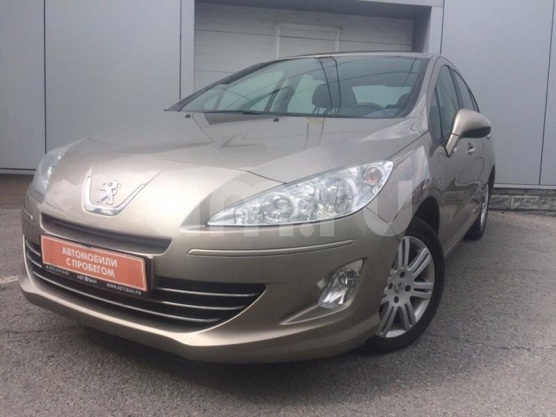 Peugeot 408 с пробегом, бежевый , отличное состояние, 2012 года выпуска, цена 459 000 руб. в автосалоне Автобан-Щербакова Chevrolet (Екатеринбург, ул. Щербакова, д. 144)