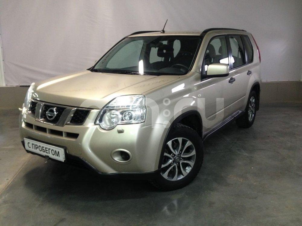 Nissan X-Trail с пробегом, бежевый металлик, отличное состояние, 2012 года выпуска, цена 780 000 руб. в автосалоне АвтоФорум 64 (Саратов, ул. Усть-Курдюмская, д. 33)