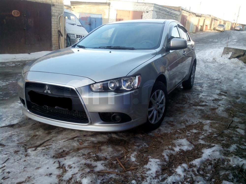 Подержанный Mitsubishi Lancer, хорошее состояние, серебряный металлик, 2013 года выпуска, цена 490 000 руб. в республике Татарстане