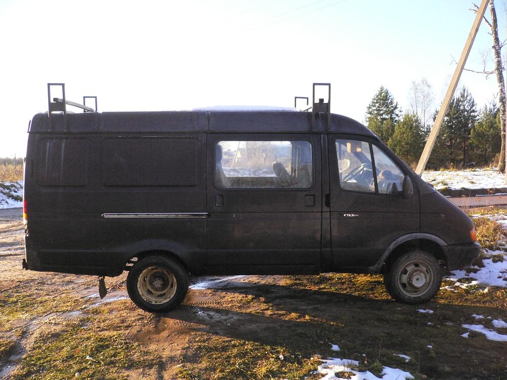 Подержанный ГАЗ Газель, среднее состояние, пурпурный матовый, 2000 года выпуска, цена 90 000 руб. в Смоленской области