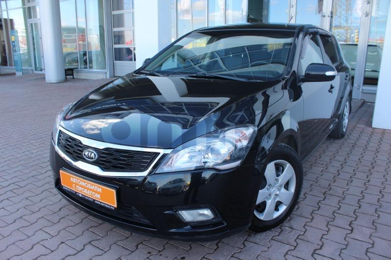 Kia Cee'd с пробегом, черный , отличное состояние, 2012 года выпуска, цена 519 000 руб. в автосалоне Автобан-Запад (Екатеринбург, ул. Металлургов, д. 67)