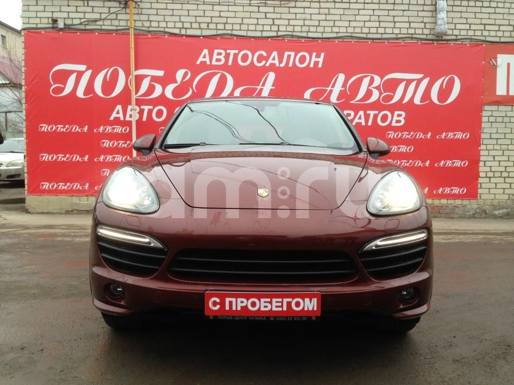 Porsche Cayenne с пробегом, коричневый , отличное состояние, 2013 года выпуска, цена 3 200 000 руб. в автосалоне Победа-Авто (Саратов, ул. Чапаева, д. 173)