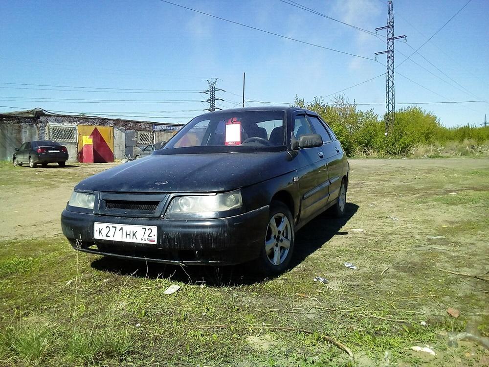 Подержанный ВАЗ (Lada) 2112, хорошее состояние, черный , 2006 года выпуска, цена 110 000 руб. в Омске