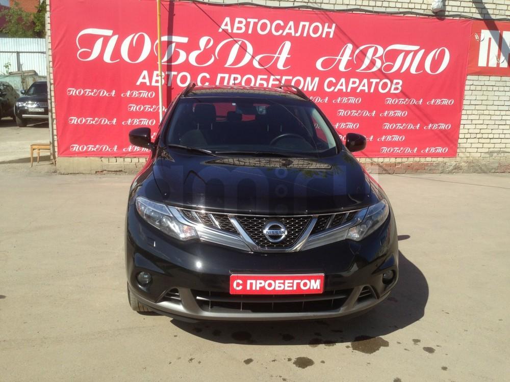 Nissan Murano с пробегом, черный металлик, отличное состояние, 2014 года выпуска, цена 1 199 000 руб. в автосалоне Победа-Авто (Саратов, ул. Чапаева, д. 173)