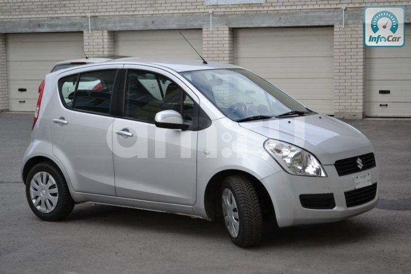 Подержанный Suzuki Splash, отличное состояние, белый перламутр, 2012 года выпуска, цена 460 000 руб. в республике Татарстане