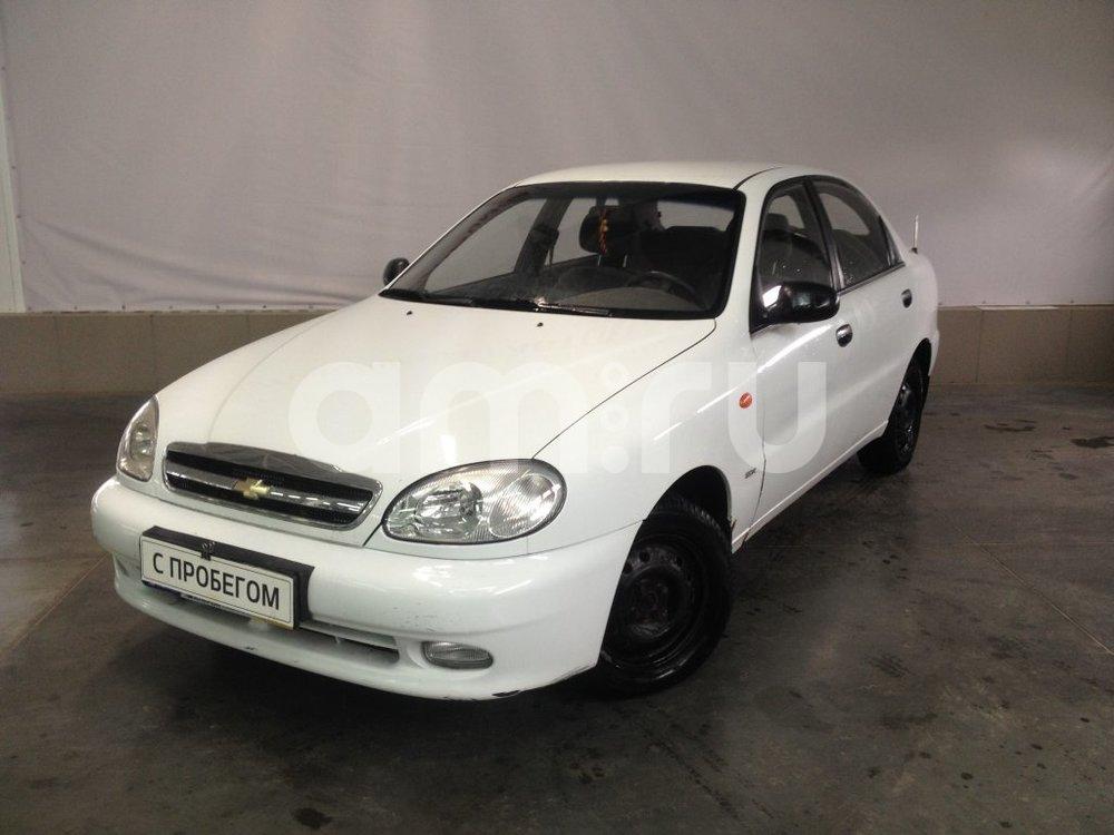 Chevrolet Lanos с пробегом, белый металлик, хорошее состояние, 2007 года выпуска, цена 139 000 руб. в автосалоне АвтоФорум 64 (Саратов, ул. Усть-Курдюмская, д. 33)