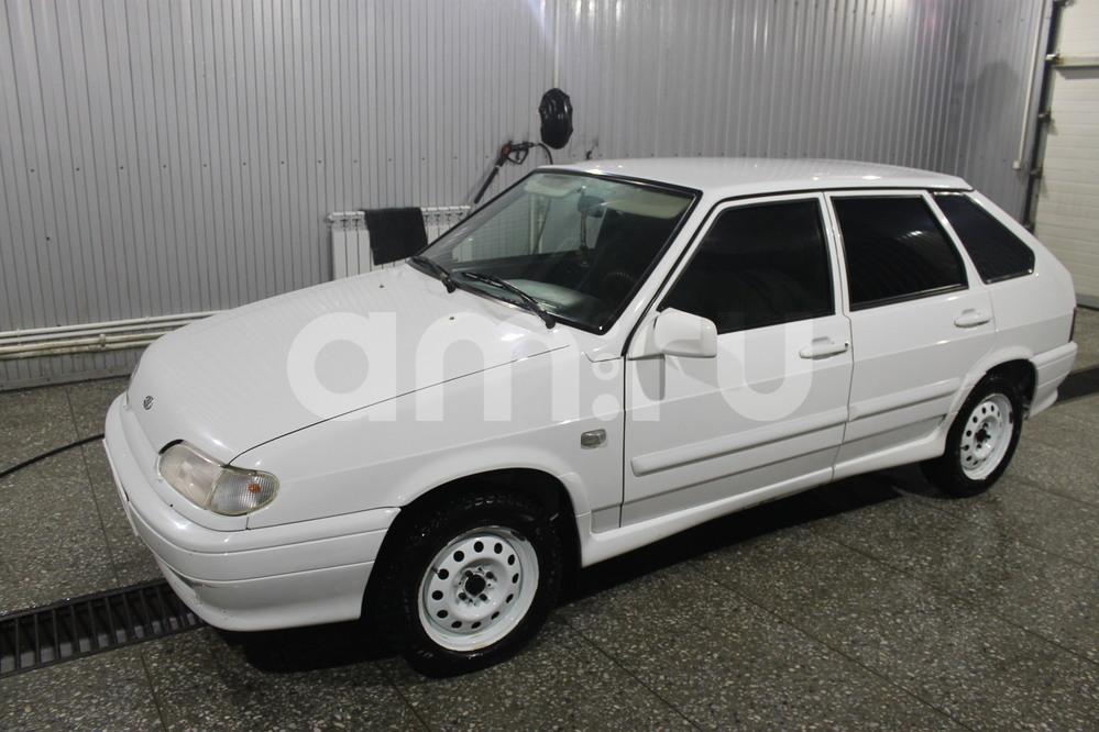 Подержанный ВАЗ (Lada) 2114, отличное состояние, белый , 2012 года выпуска, цена 205 000 руб. в Пензенской области