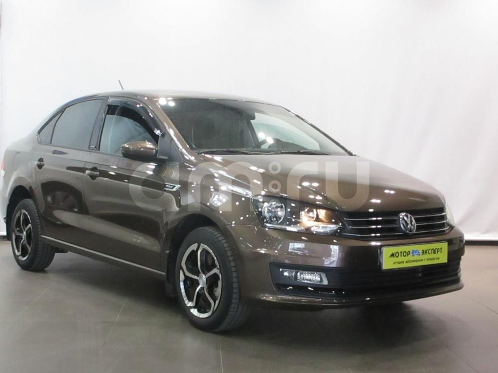 Volkswagen Polo с пробегом, коричневый , отличное состояние, 2016 года выпуска, цена 635 000 руб. в автосалоне Мотор-Эксперт (Киров, ул. Московская, д. 106А)
