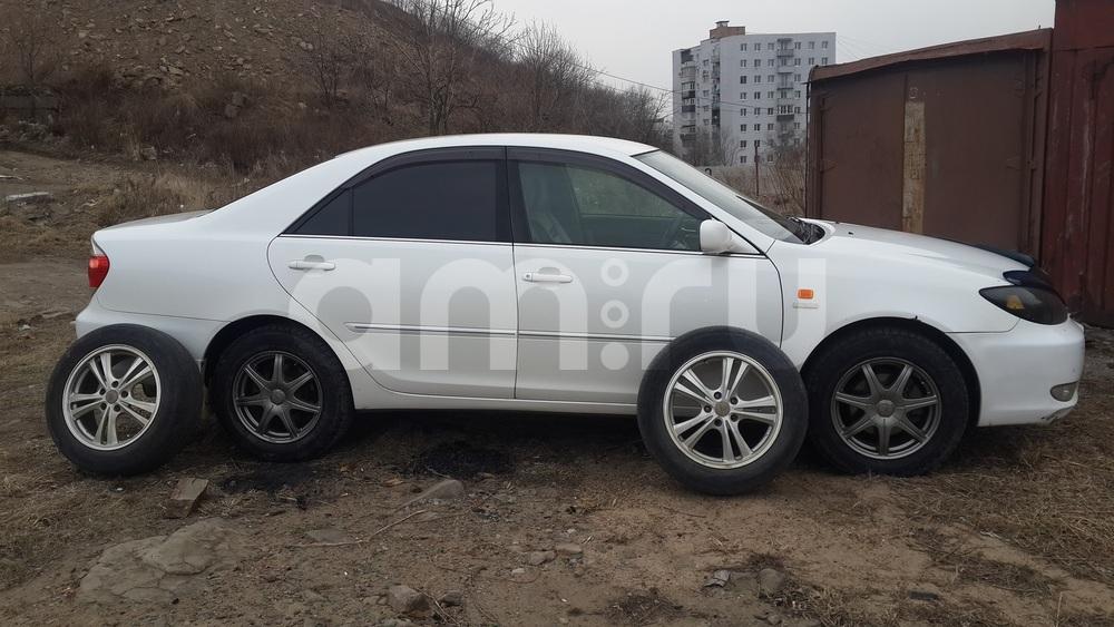 Подержанный Toyota Camry, среднее состояние, бежевый перламутр, 2002 года выпуска, цена 405 000 руб. в Владивостоке