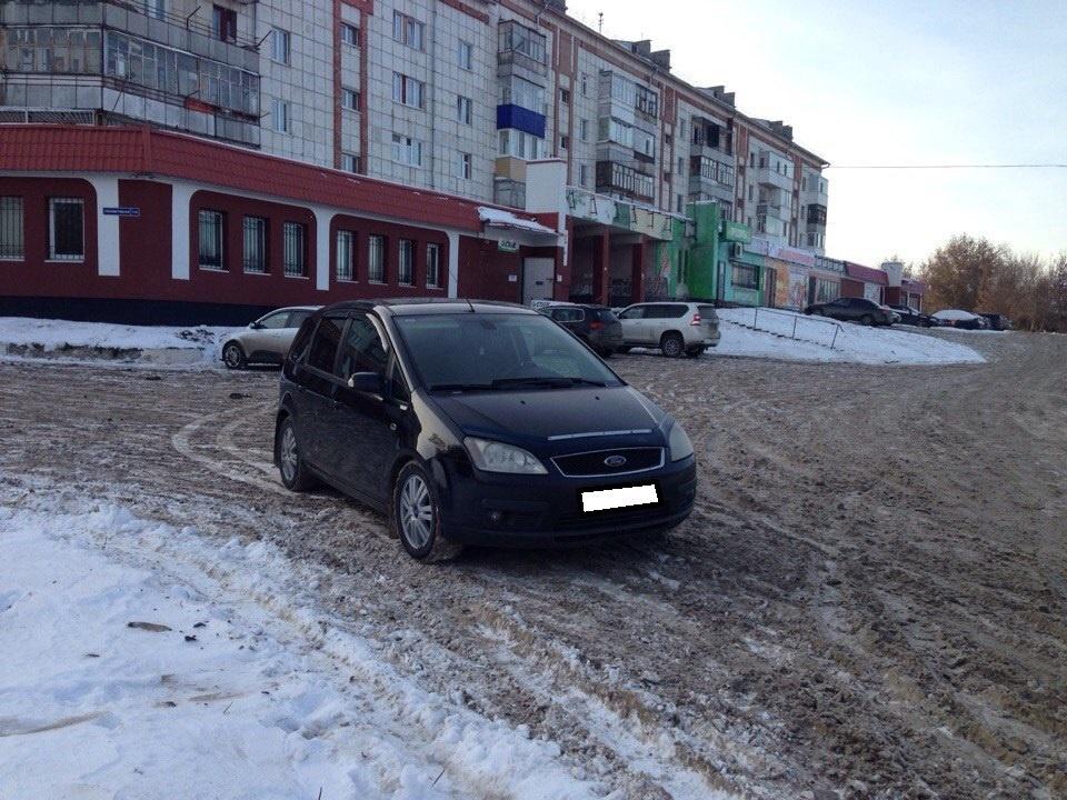 Ford C-Max с пробегом, черный металлик, хорошее состояние, 2005 года выпуска, цена 347 000 руб. в автосалоне  ()