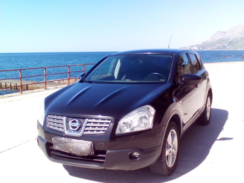 Подержанный Nissan Qashqai, отличное состояние, черный , 2008 года выпуска, цена 530 000 руб. в Крыму