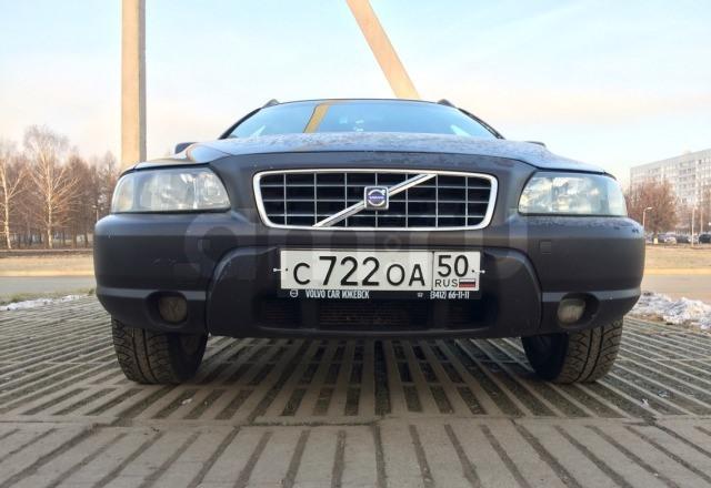 Подержанный Volvo XC70, хорошее состояние, черный , 2001 года выпуска, цена 190 000 руб. в республике Татарстане