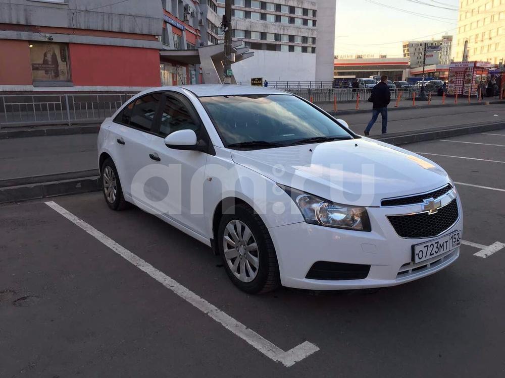 Подержанный Chevrolet Cruze, отличное состояние, белый , 2012 года выпуска, цена 410 000 руб. в Нижнем Новгороде