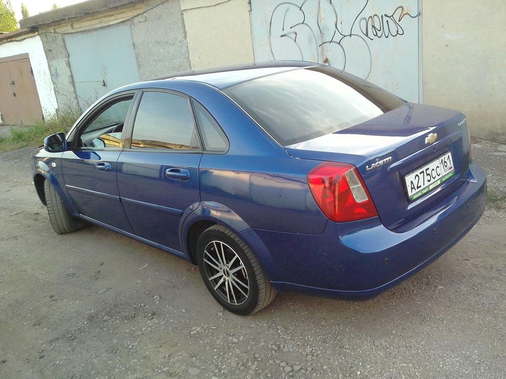 Подержанный Chevrolet Lacetti, хорошее состояние, синий , 2010 года выпуска, цена 335 000 руб. в Крыму