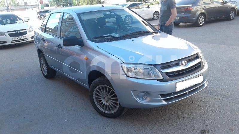 ВАЗ (Lada) Granta с пробегом, голубой , отличное состояние, 2012 года выпуска, цена 335 000 руб. в автосалоне  ()