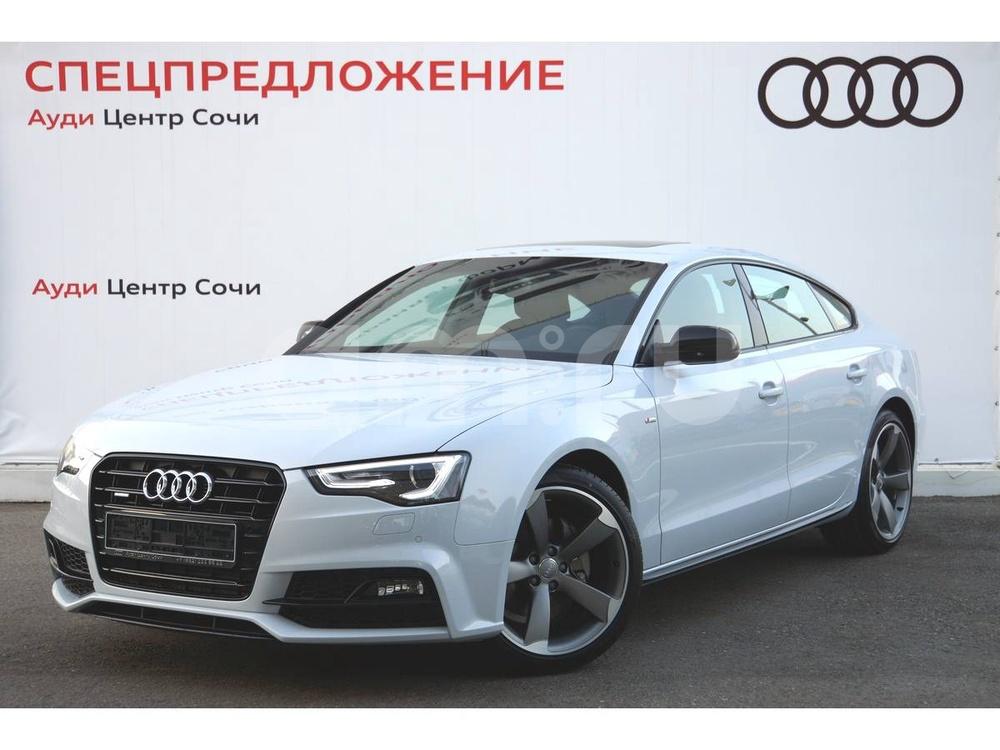 Новый авто Audi A5, серый , 2016 года выпуска, цена 2 790 000 руб. в автосалоне  ()