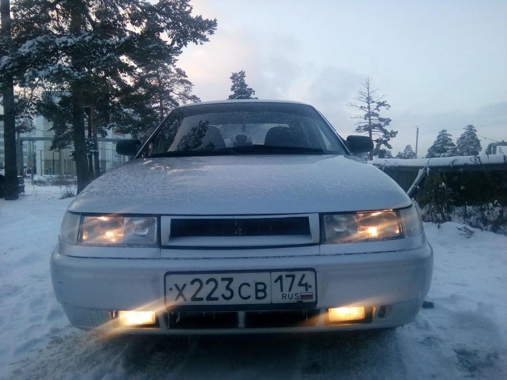 Подержанный ВАЗ (Lada) 2110, отличное состояние, серебряный , 2003 года выпуска, цена 105 000 руб. в Челябинской области