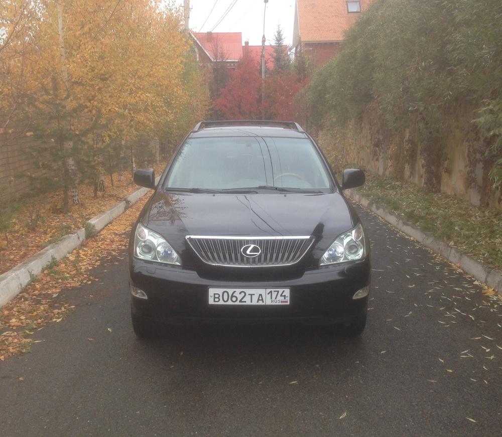 Подержанный Lexus RX, отличное состояние, черный , 2004 года выпуска, цена 820 000 руб. в Челябинской области