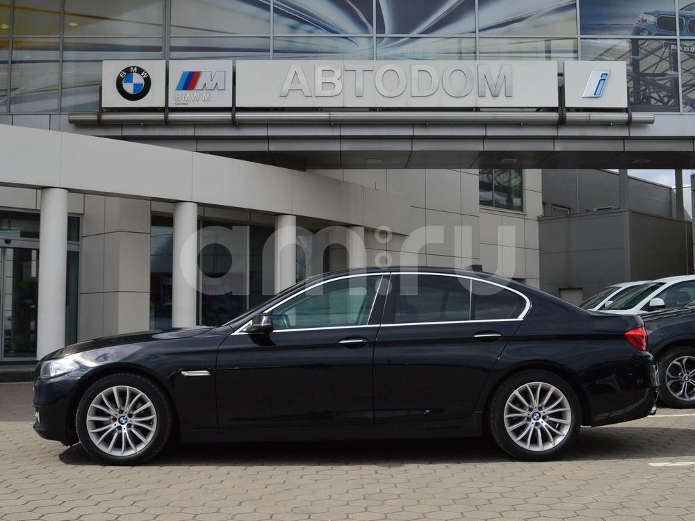 BMW 5 серия с пробегом, черный , отличное состояние, 2014 года выпуска, цена 1 620 000 руб. в автосалоне  ()