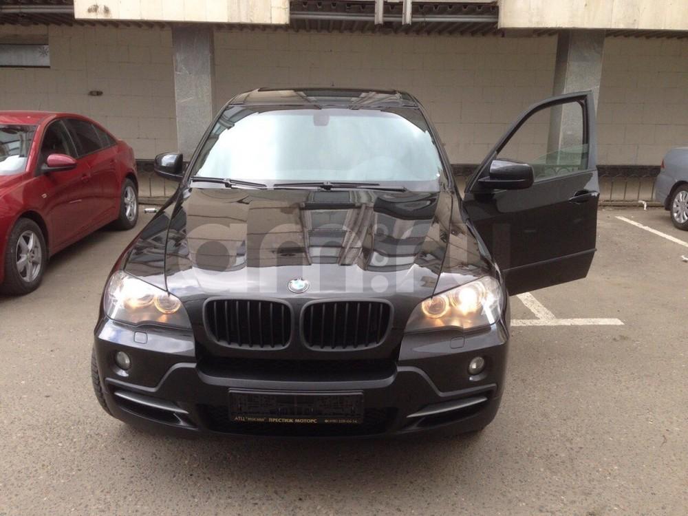 Подержанный BMW X5, отличное состояние, черный , 2007 года выпуска, цена 1 000 000 руб. в Тюмени