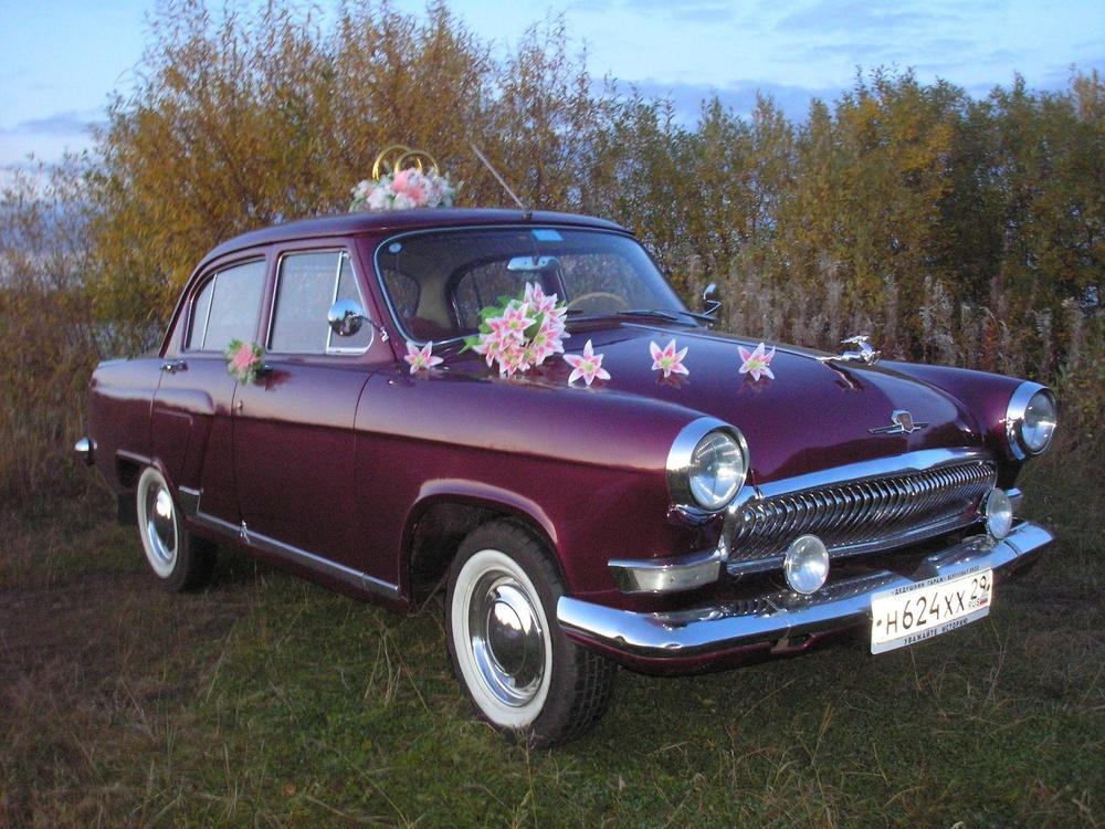 Подержанный ГАЗ 21 Волга, отличное состояние, бордовый металлик, 1965 года выпуска, цена 460 000 руб. в Архангельске
