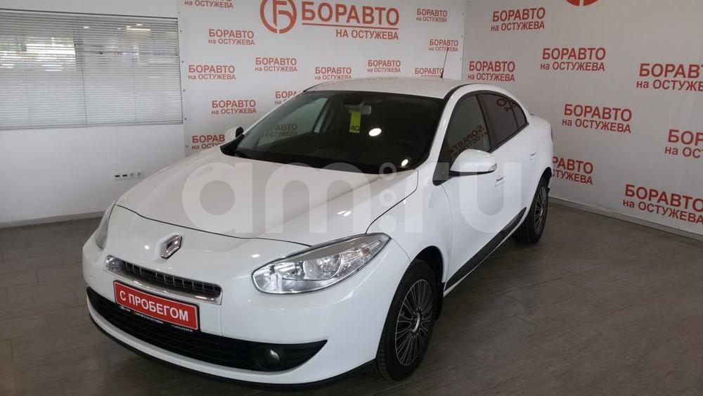 Renault Fluence с пробегом, белый , отличное состояние, 2010 года выпуска, цена 388 000 руб. в автосалоне  ()