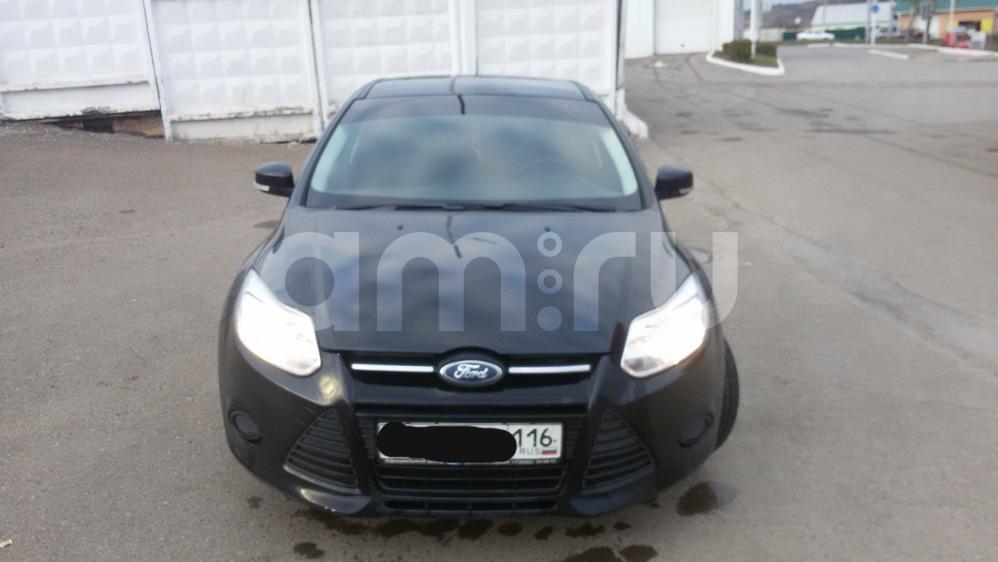 Подержанный Ford Focus, отличное состояние, черный , 2011 года выпуска, цена 490 000 руб. в республике Татарстане
