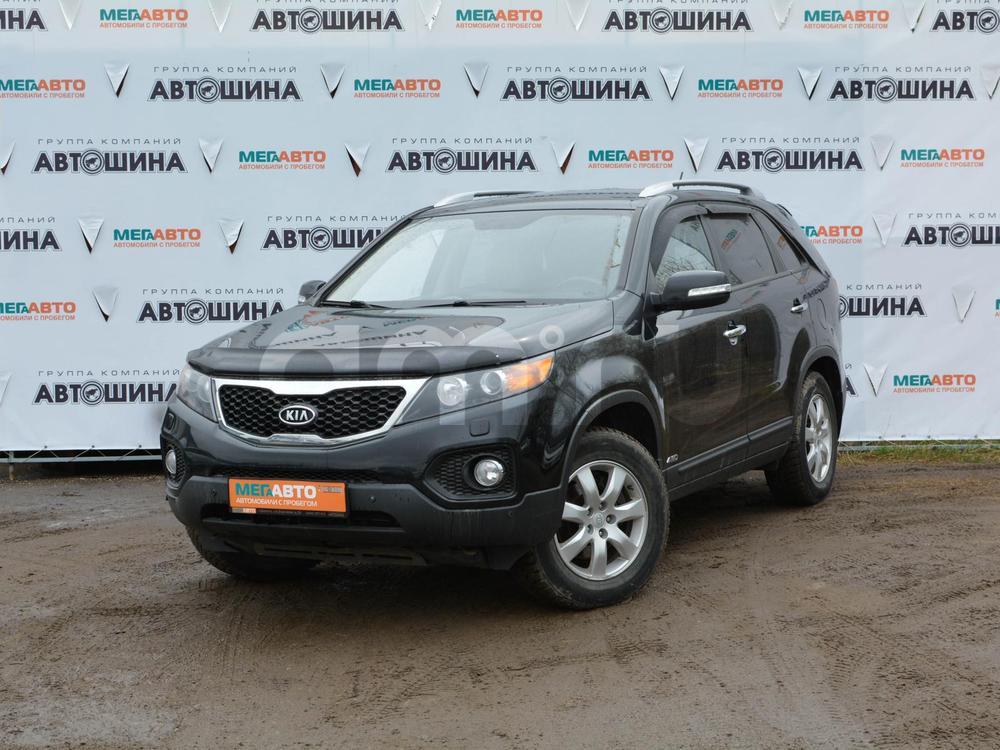 Kia Sorento с пробегом, черный , отличное состояние, 2009 года выпуска, цена 700 000 руб. в автосалоне Мега Авто Калуга (Калуга, ул. Зерновая, д. 28)