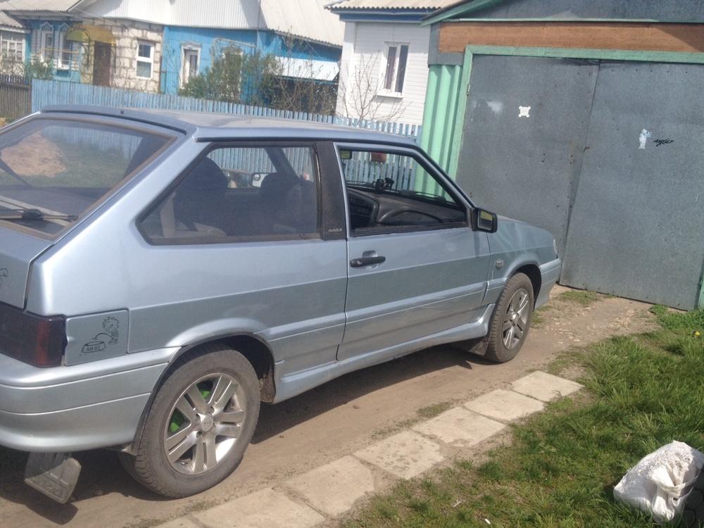 Подержанный ВАЗ (Lada) 2113, хорошее состояние, серебряный металлик, 2007 года выпуска, цена 120 000 руб. в Воронежской области