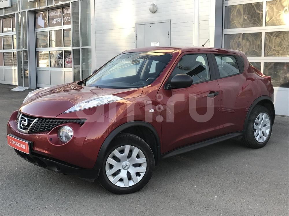 Nissan Juke с пробегом, красный металлик, отличное состояние, 2013 года выпуска, цена 650 000 руб. в автосалоне  ()