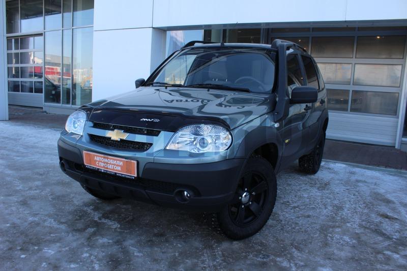 Chevrolet Niva с пробегом, серый , отличное состояние, 2015 года выпуска, цена 579 000 руб. в автосалоне Автобан-Запад (Екатеринбург, ул. Металлургов, д. 67)