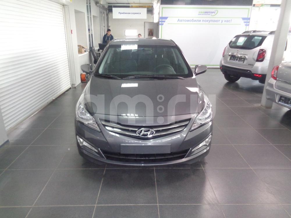 Hyundai Solaris с пробегом, серый металлик, отличное состояние, 2016 года выпуска, цена 650 000 руб. в автосалоне УФА МОТОРС (Уфа, ул. Сарапульская, д. 35)