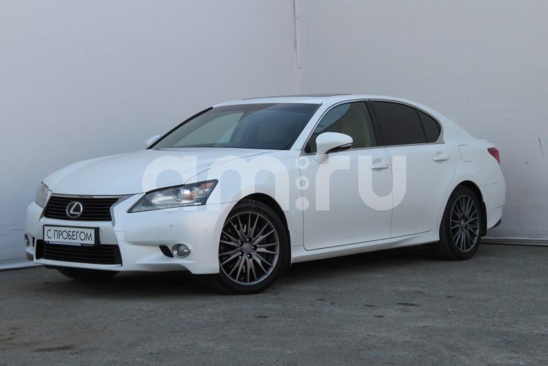 Lexus GS с пробегом, белый металлик, отличное состояние, 2013 года выпуска, цена 1 670 000 руб. в автосалоне Лексус - Екатеринбург (Екатеринбург, ул. Металлургов, д. 60)
