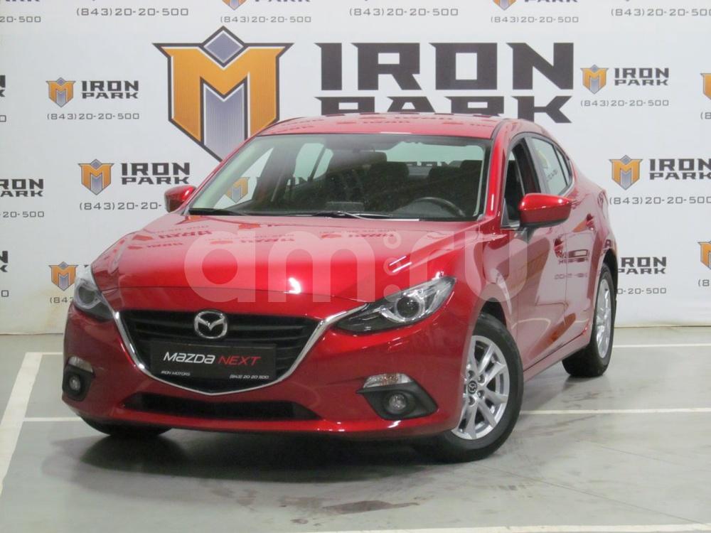 Mazda 3 с пробегом, красный металлик, отличное состояние, 2015 года выпуска, цена 1 170 000 руб. в автосалоне Айрон Моторс Trade-in (Казань, ул. Спартаковская, д. 12)