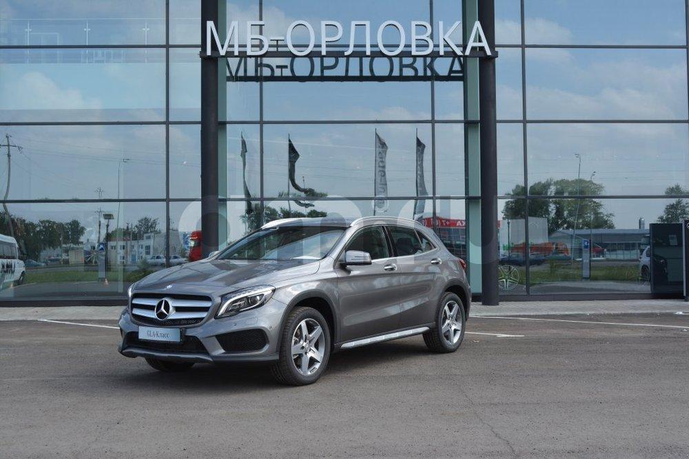 Новый авто Mercedes-Benz GLA-Класс, серый металлик, 2016 года выпуска, цена 2 310 000 руб. в автосалоне  ()
