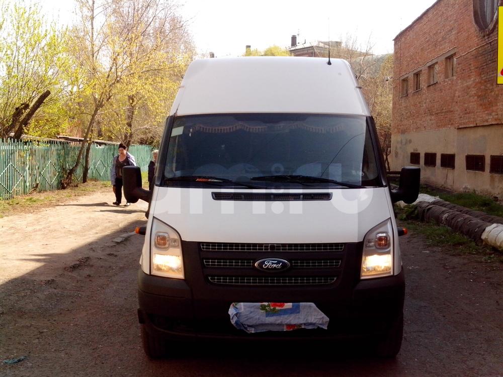 Подержанный Ford Transit, отличное состояние, белый , 2014 года выпуска, цена 1 150 000 руб. в Омске